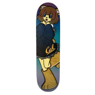 Fille mignonne d'ours de calorie skateboard old school  21,6 cm