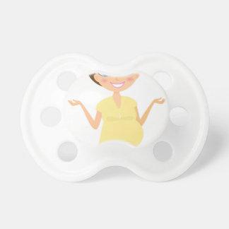 Fille peinte à la main de yoga : T-shirts Tétine