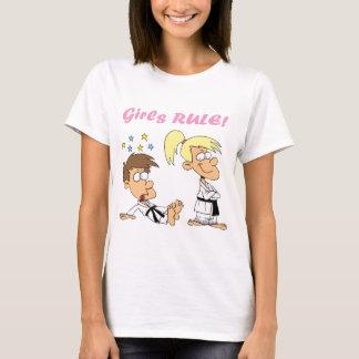 Fille-Règle-judo T-shirt