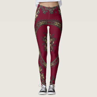 Fille rouge leggings