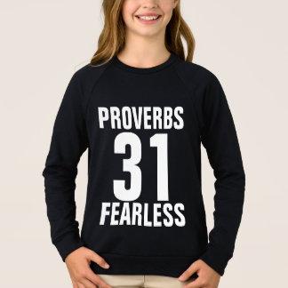 Filles chrétienne, PROVERBES 31 T-shirts COURAGEUX