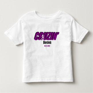Filles Cruzin Boston d'enfant en bas âge T-shirt Pour Les Tous Petits