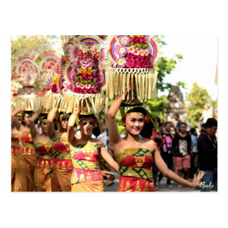 Filles de Balinese Carte Postale