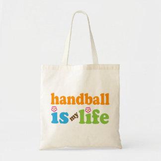 Filles de cadeau de joueur de handball sac en toile