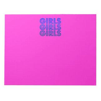 Filles de filles de filles blocs notes