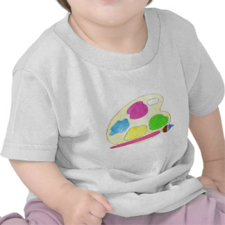 Filles de palette d'artistes t-shirt