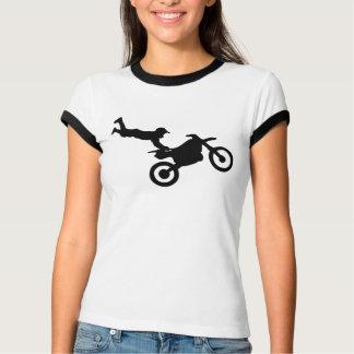 Filles de T-shirt de style libre