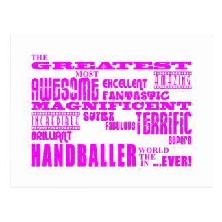 Filles Handballers : Plus grand Handballer rose