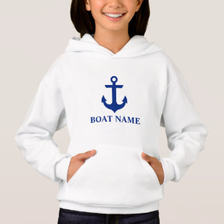 Filles nautiques d'ancre de nom de bateau