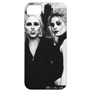 Filles - noires et caisse blanche d'Iphone 5 Coque iPhone 5 Case-Mate