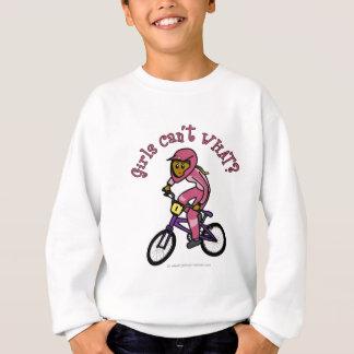 Filles roses foncées BMX Sweatshirt