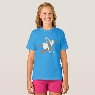 Filles - T-shirt de mouette de tinctorial de John