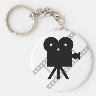 film d appareil-photo de cinématographie de film d porte-clés