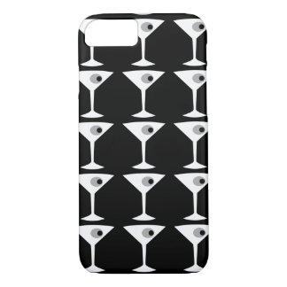 Film Noir un autre cas de l'iPhone 7 de Martini Coque iPhone 7