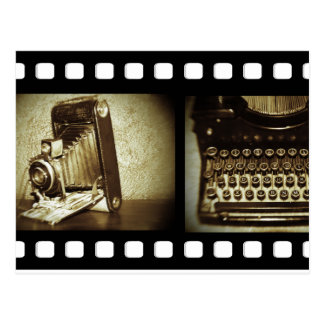 Film vintage carte postale