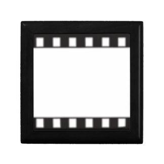 filmstrip petite boîte à bijoux carrée