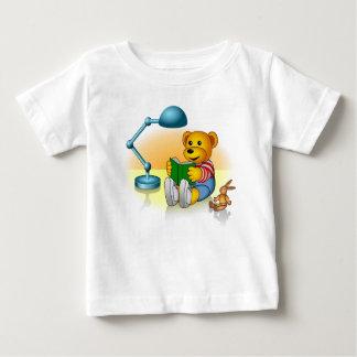 Filou apprend à lire t-shirt pour bébé
