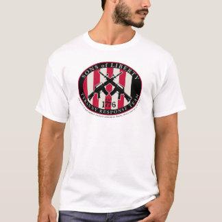 Fils de T-shirt de réponse de tyrannie de liberté