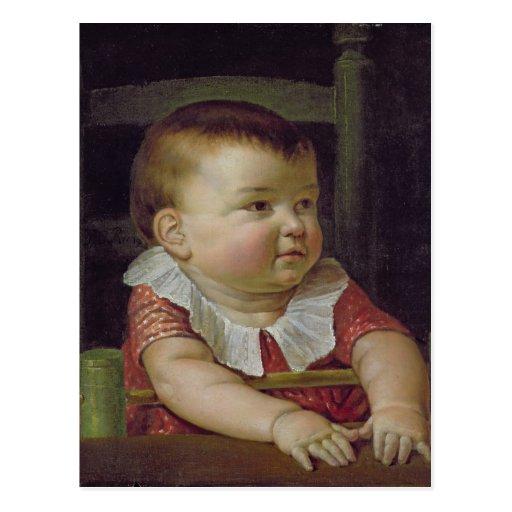 Fils d'Otto Sigismund de l'artiste, 1805 Cartes Postales