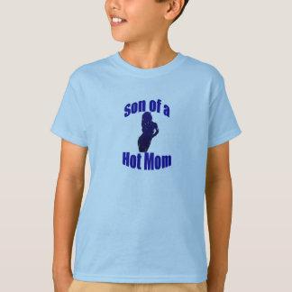 Fils… d'une pièce en t chaude de maman t-shirt