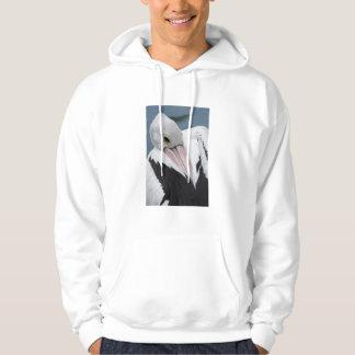 Fin australienne de pélican veste à capuche