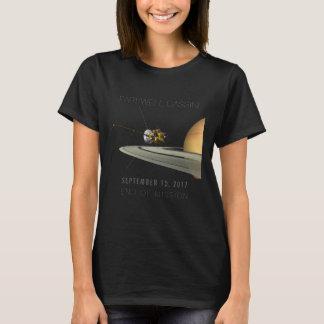 Fin d'adieu de Cassini de mission - T-shirt