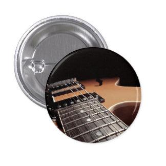 Fin de guitare électrique - Brown vintage Badge Rond 2,50 Cm