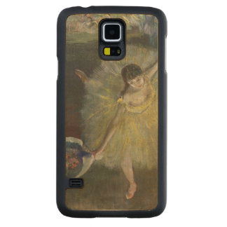 Fin d'Edgar Degas | d'un arabesque, 1877 Coque Slim Galaxy S5 En Érable