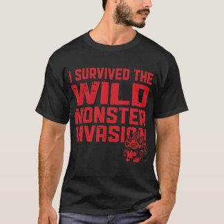 Final j'ai survécu au T-shirt sauvage d'invasion