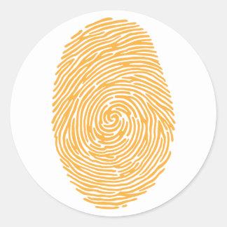 fingerprint3 adhésifs ronds