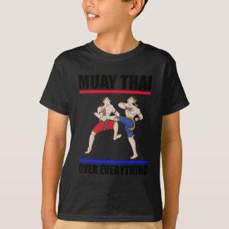 Fini thaïlandais de Muay tout T-shirt