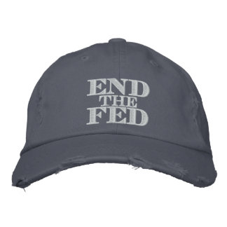 Finissez le Fed Casquette Brodée