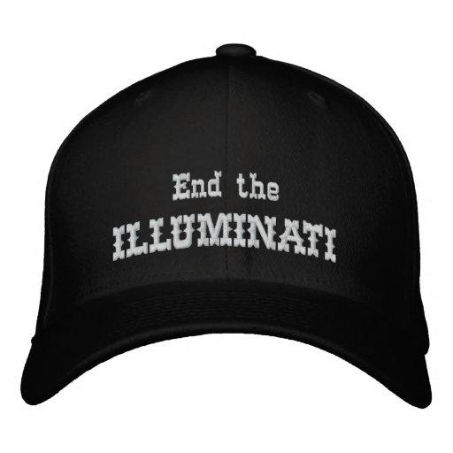 Finissez l'illuminati chapeaux brodés