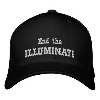 Finissez l'illuminati casquette brodée