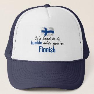 Finlandais humble casquette