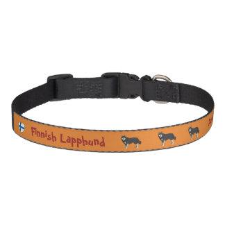 Finlandais Lapphund dog collar Collier Pour Chien