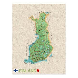 ♥ Finlande de CARTES POSTALES de CARTE