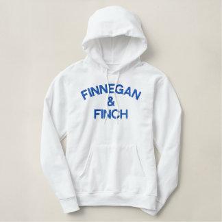 Finnegan et blanc et bleu de sweat - shirt à