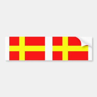 Finns parlants suédois, Finlande Autocollant De Voiture