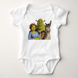 Fiona, Shrek, chat dans les bottes, et âne Body