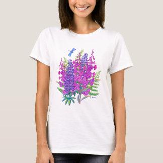 Fireweed et de loup t-shirt