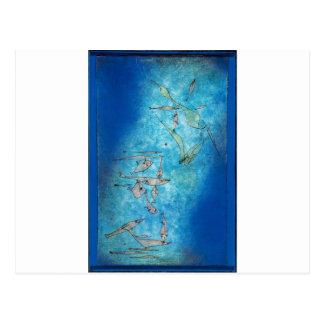 Fish Image - Paul Klee Cartes Postales