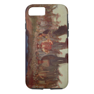 Fiumana (la marée humaine) 1895-96 (huile sur la coque iPhone 7