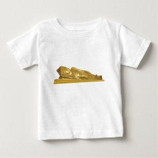 Fixation de statue de Bouddha d'or T-shirt Pour Bébé