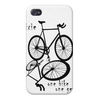 Fixie - un coque iphone de vitesse du vélo un étuis iPhone 4