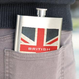 Flacon BRITANNIQUE britannique d'Union Jack de