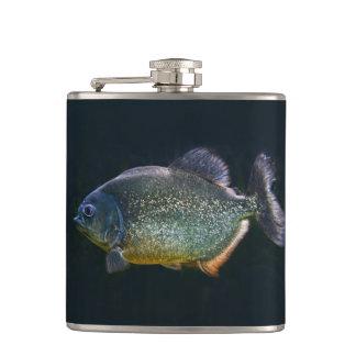 Flacon de hanche de piranha