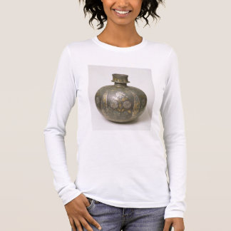 Flacon de Mughal (métal ouvré) T-shirt À Manches Longues