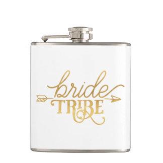 Flacon de tribu de jeune mariée de flèche d'or