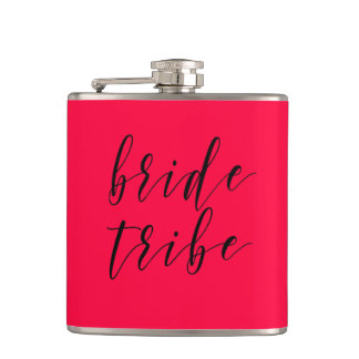 Flacon de vinyle de mariage de tribu de jeune